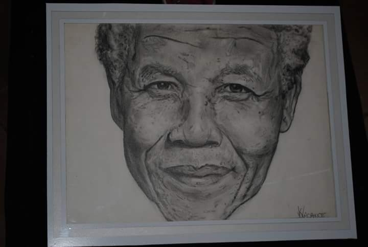 Nelson Mandela by Etoileka